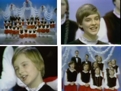 Der Obernkirchen Childrens Choir in der Ed Sullivan Show